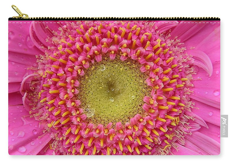 Pink Flower Carry-all Pouch featuring the photograph Summer Glory by Carol Groenen