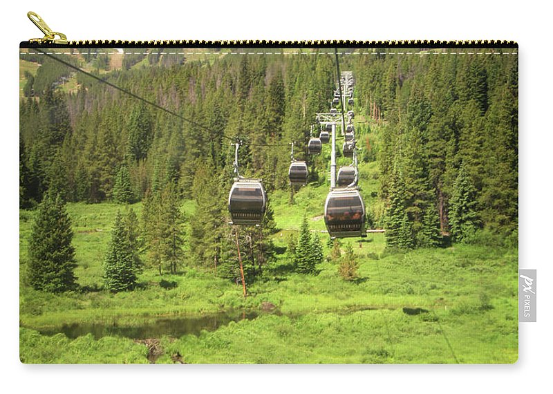 Summer Carry-all Pouch featuring the photograph Summer Gondola Times by Marilyn Hunt