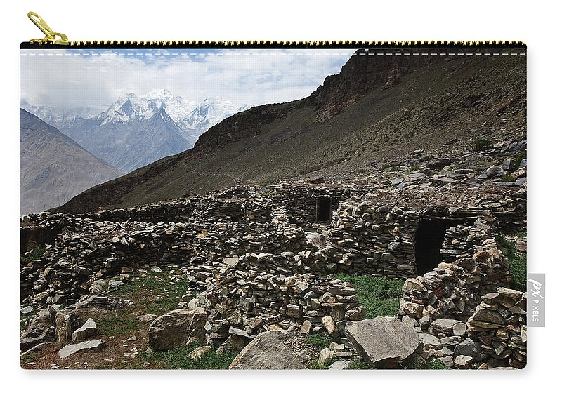 Backpacking Carry-all Pouch featuring the photograph Summer Hut by Konstantin Dikovsky