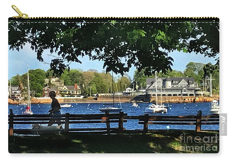 Marblehead Massachusetts Carry-all Pouch featuring the photograph Summer In Marblehead, Ma by Jane Maurer