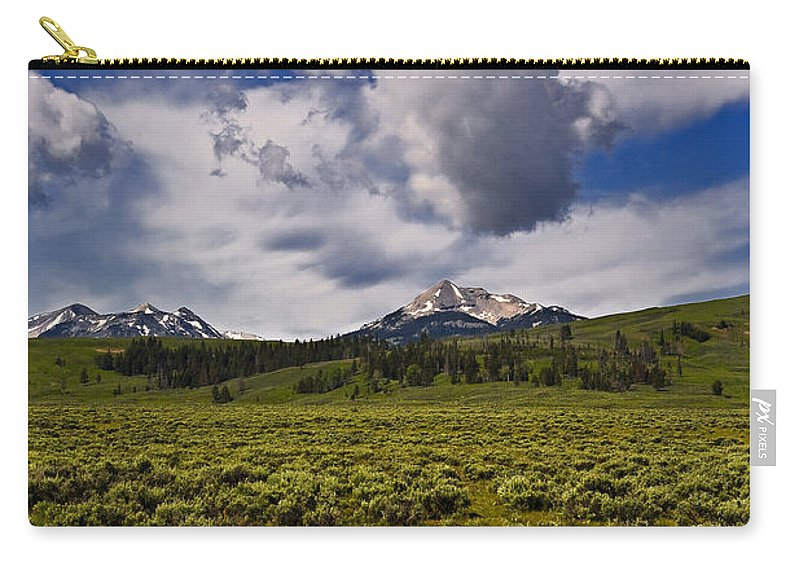 Nature Carry-all Pouch featuring the photograph Summer by John K Sampson