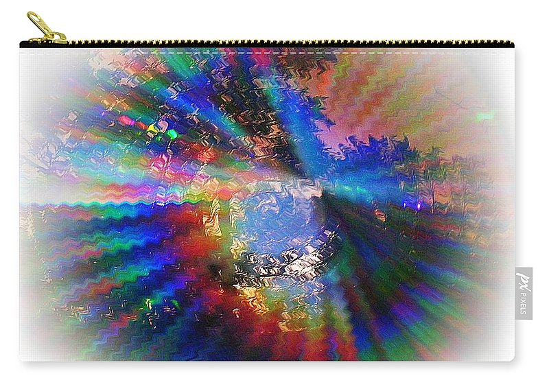 Abstract Carry-all Pouch featuring the photograph Summer Light by Concolleen's Visions Smith