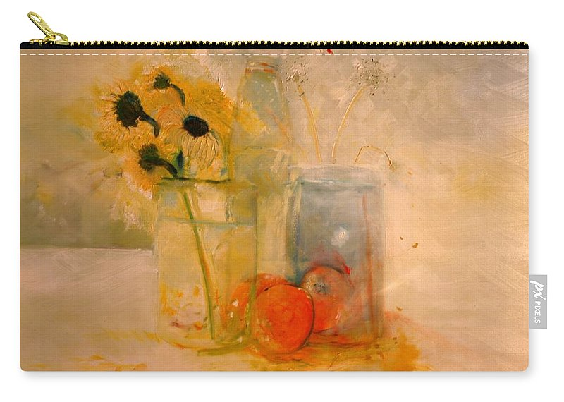Daisey Carry-all Pouch featuring the painting Summer Light by Jack Diamond