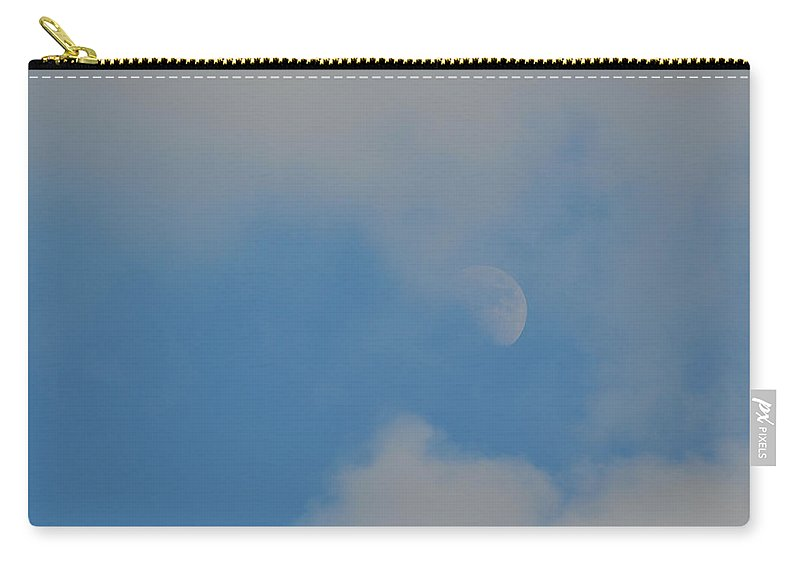 Moon Carry-all Pouch featuring the photograph Summer Moon by JAMART Photography