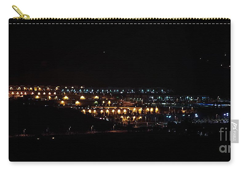 Clay Carry-all Pouch featuring the photograph Summer Nights by Clayton Bruster