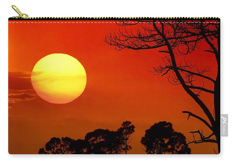 Fort Walton Beach Carry-all Pouch featuring the photograph Summer Nights by Janet Fikar