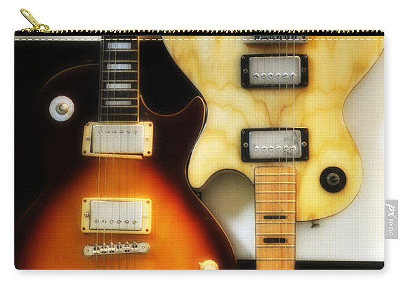 Les Paul Carry-all Pouch featuring the photograph Summer Of 69 by Bill Cannon