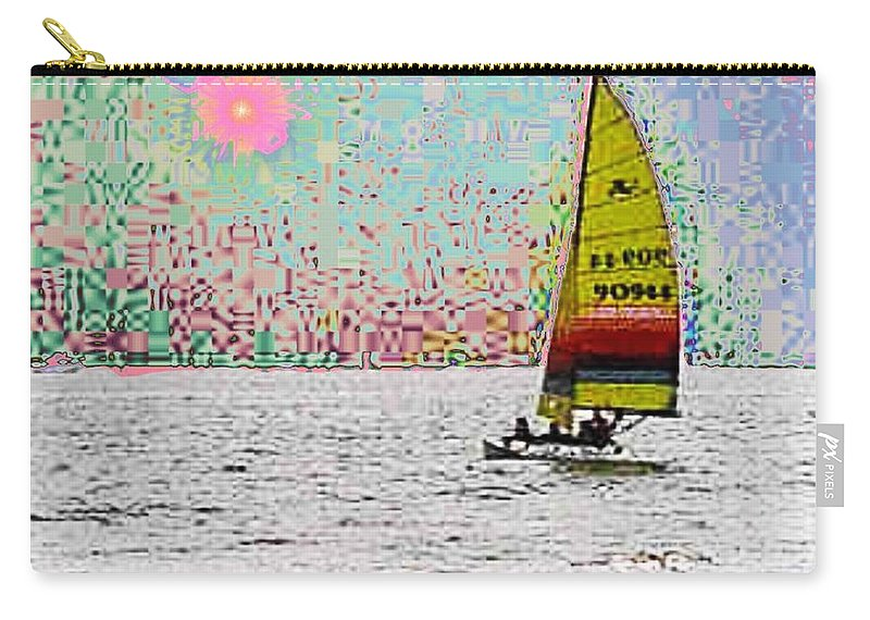 Sail Carry-all Pouch featuring the photograph Summer Sailin by Tim Allen