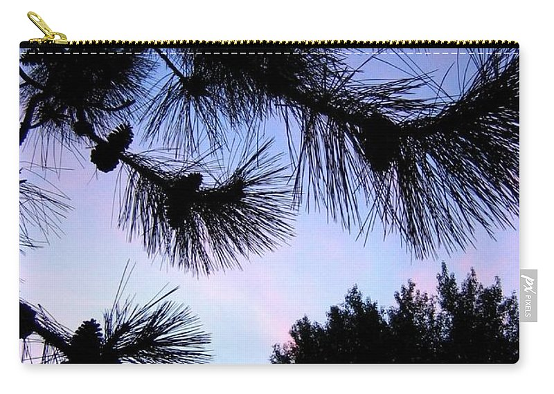 Silhouettes Carry-all Pouch featuring the photograph Summer Silhouettes by Will Borden