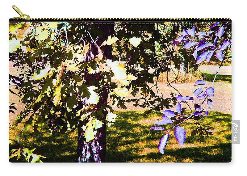 Tree In Summer Carry-all Pouch featuring the photograph Summer Sulstice by Joanne Smoley