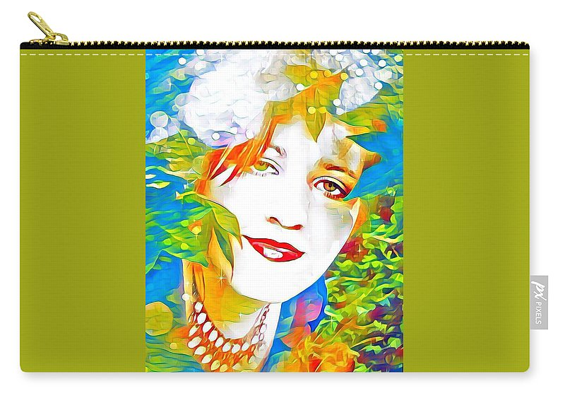 Artist Self Portrait Carry-all Pouch featuring the photograph Summer by Tarisa Smith
