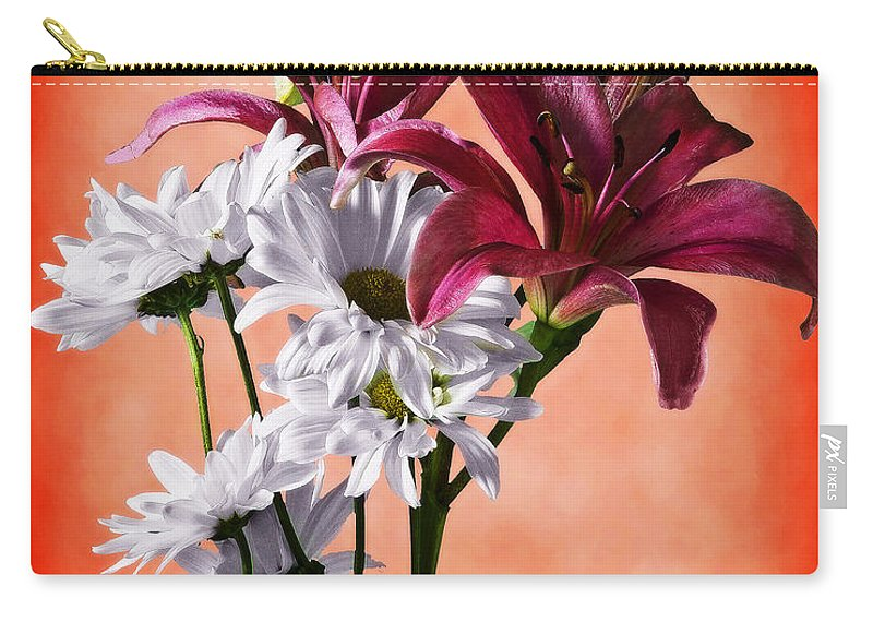 Botanical Carry-all Pouch featuring the photograph Summer Wild Flowers by Ed Churchill