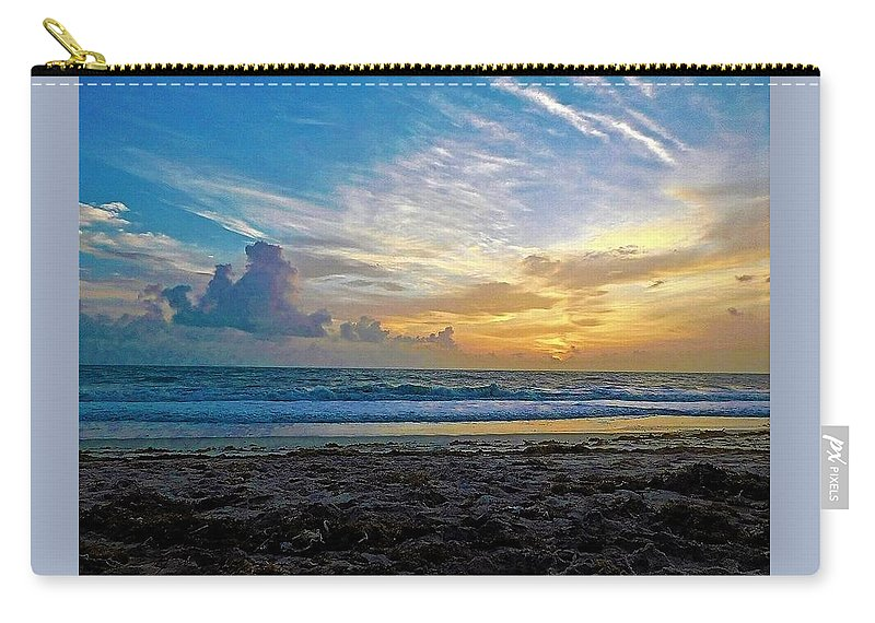 Ocean Carry-all Pouch featuring the photograph Summer Winds by Jerry O'Rourke
