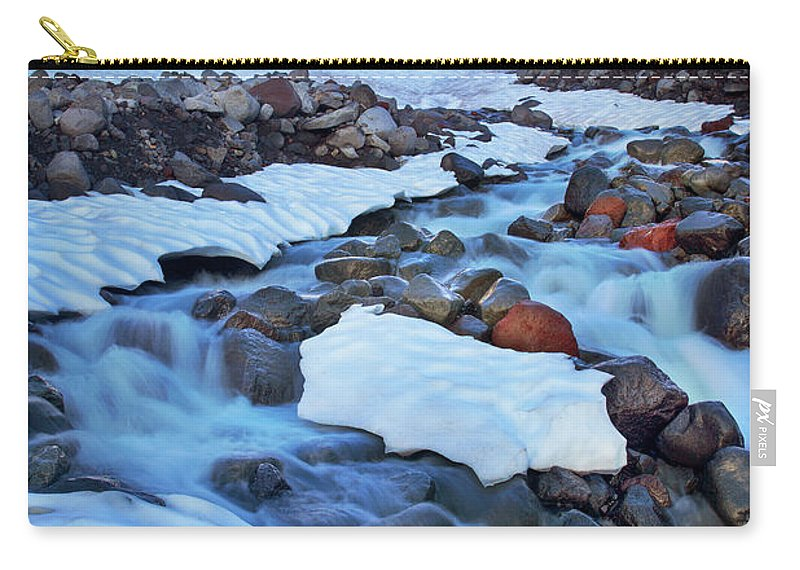 America Carry-all Pouch featuring the photograph Summerland Creek by Inge Johnsson