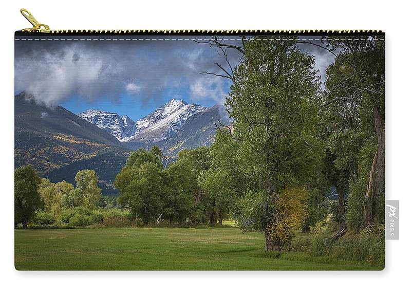 Colorado Photographs Carry-all Pouch featuring the photograph Summer's End by Gary Benson