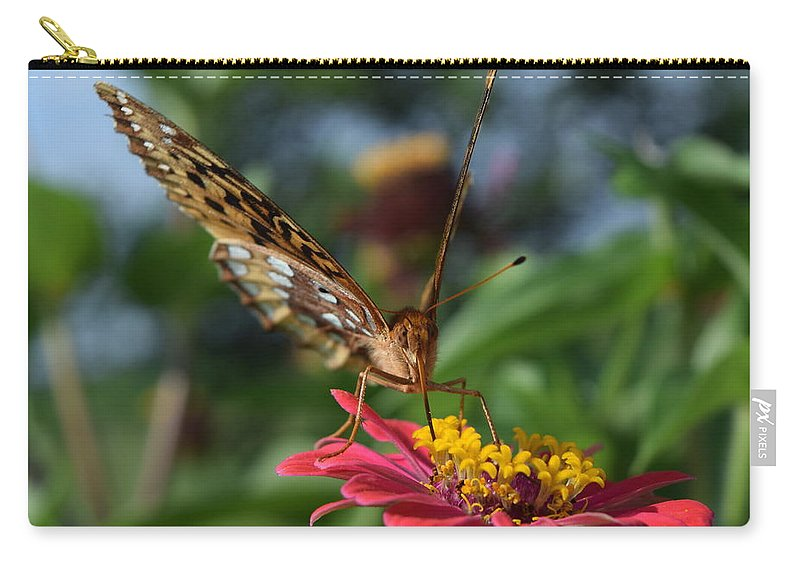 Butterfly Carry-all Pouch featuring the photograph Summer's Sweet Nectar by Bonny Puckett