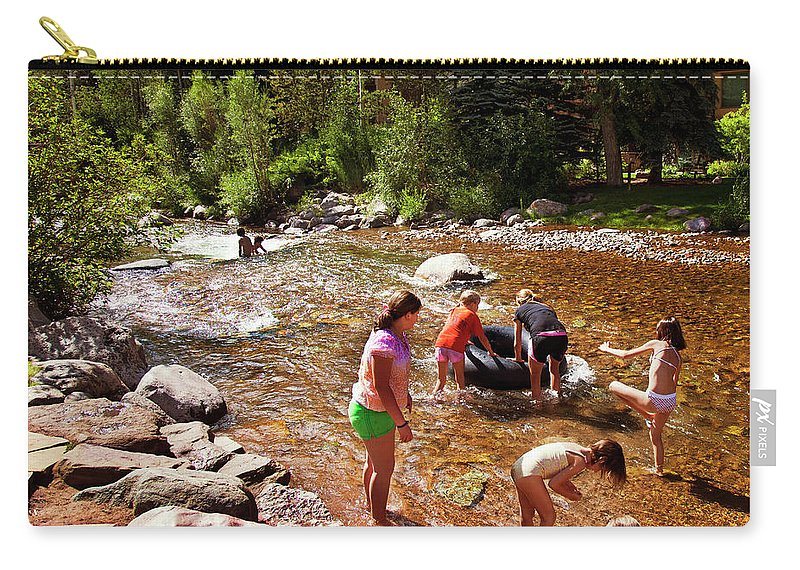 Summer Carry-all Pouch featuring the photograph Summertime Fun by Madeline Ellis