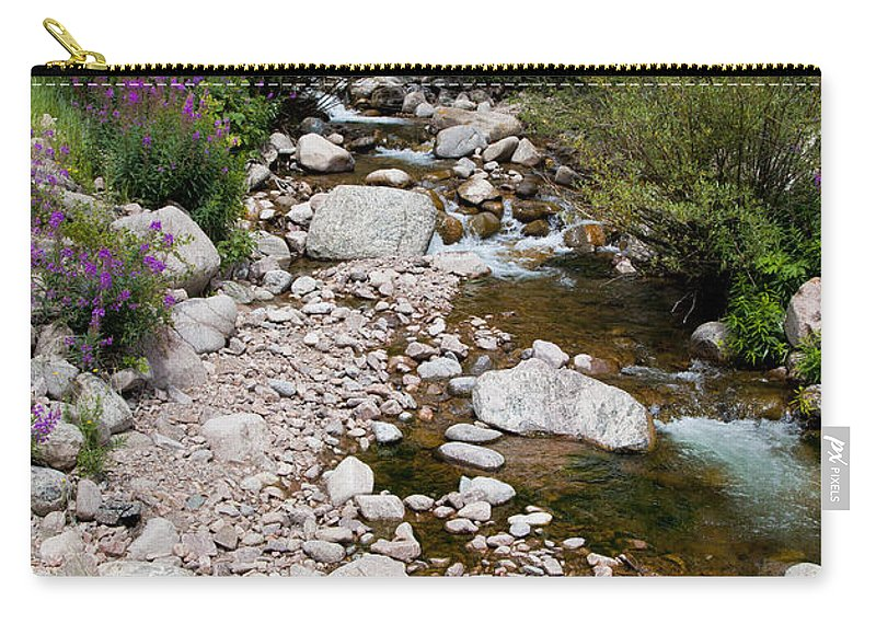 Stream Carry-all Pouch featuring the photograph Summertime by Madeline Ellis