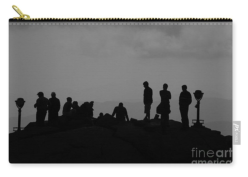 Summit Carry-all Pouch featuring the photograph Summit People by David Lee Thompson