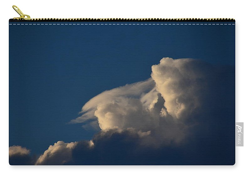 Cloudscape Carry-all Pouch featuring the photograph Sun Before The Storm by Jennifer Wick
