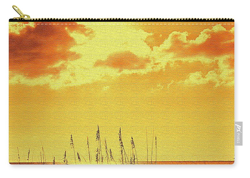 Sun Carry-all Pouch featuring the photograph Sun by Ian MacDonald