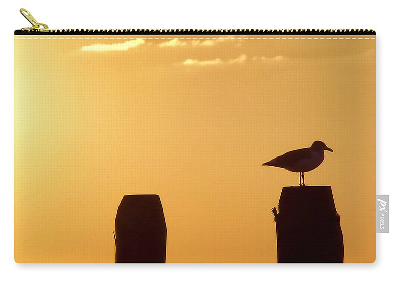Beach Carry-all Pouch featuring the photograph Sun Is Rising by JAMART Photography