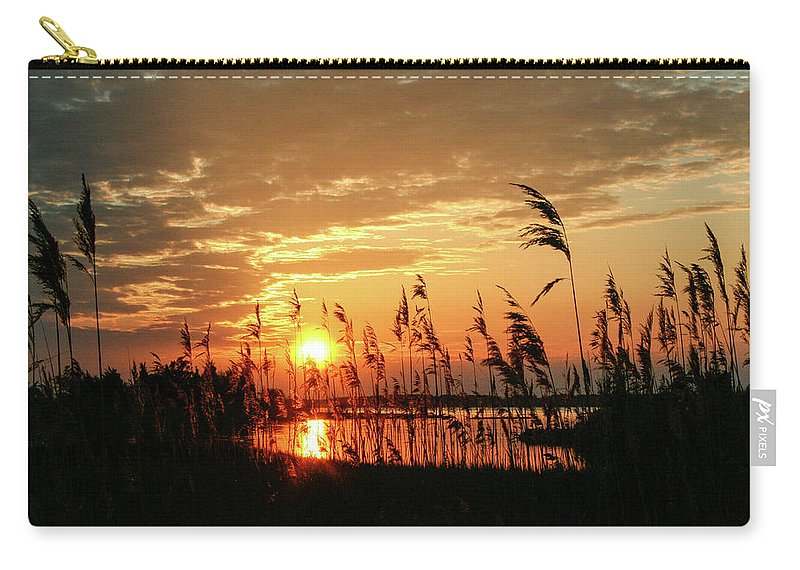 Sunset Carry-all Pouch featuring the photograph Sun Kissed by Haviland Photography