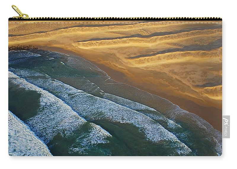 Coast Carry-all Pouch featuring the photograph Sun Rise Coast by Skip Hunt