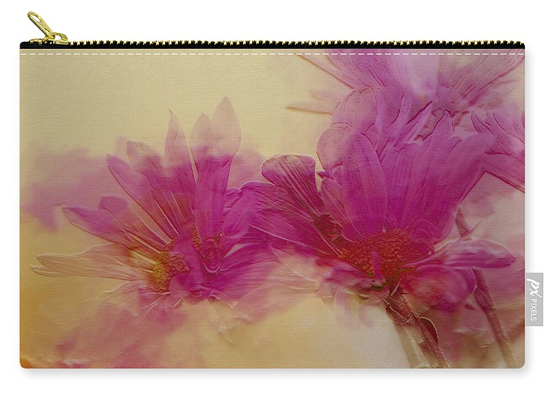 Flowers Carry-all Pouch featuring the photograph Sundance by Linda Sannuti