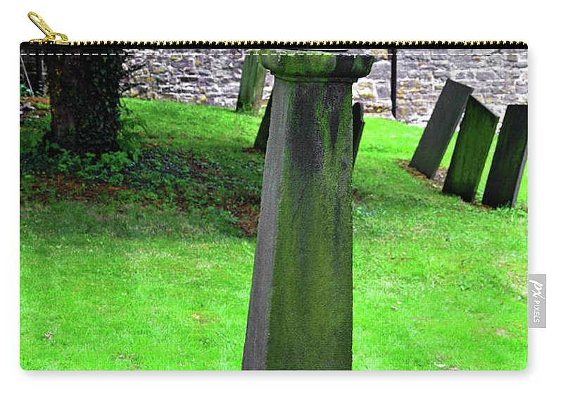 Thorpe Carry-all Pouch featuring the photograph Sundial In St Leonard's Churchyard - Thorpe by Rod Johnson