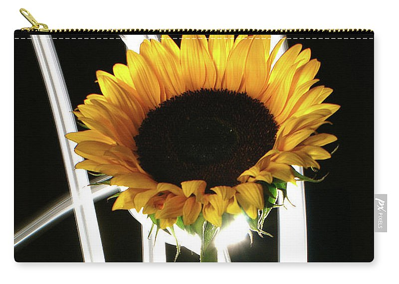 Flower Carry-all Pouch featuring the photograph Sunflower by Bruce Bradley