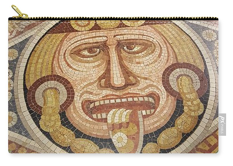 Mosaics Carry-all Pouch featuring the photograph Sungod Mosaic by Rob Hans