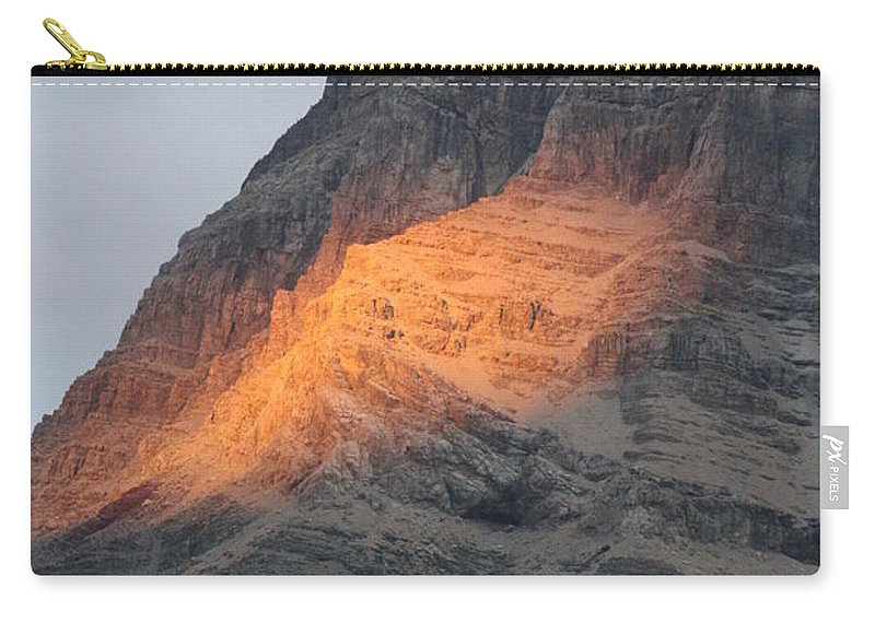 Nature Carry-all Pouch featuring the photograph Sunlight Mountain by Mary Mikawoz