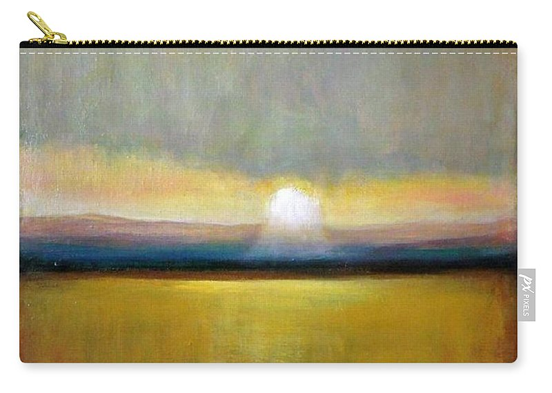 Painting Carry-all Pouch featuring the painting Sunlight by Vesna Antic