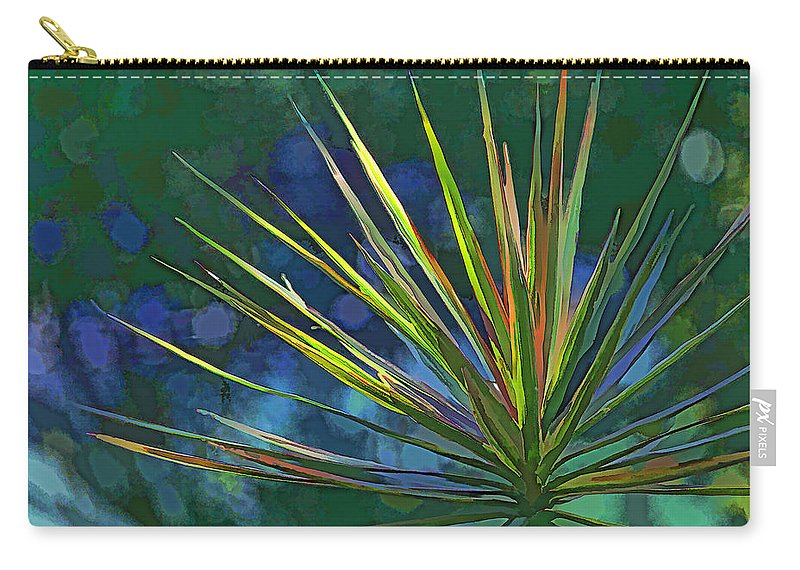 Dracaena Carry-all Pouch featuring the photograph Sunlit Dracaena Marginata by HH Photography of Florida