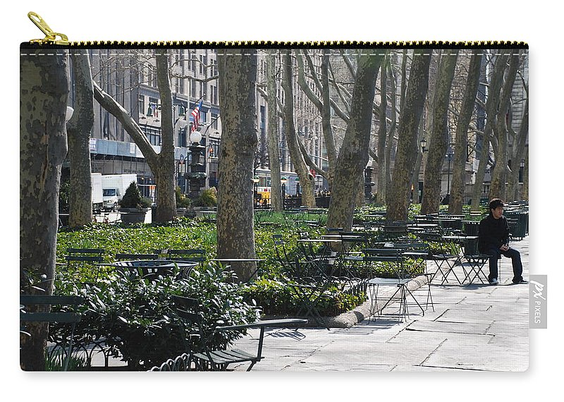 Parks Carry-all Pouch featuring the photograph Sunny Morning In The Park by Rob Hans