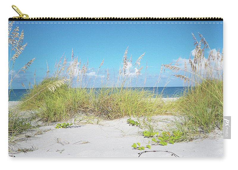 Florida Carry-all Pouch featuring the photograph Sunny Sanibel by Chris Andruskiewicz