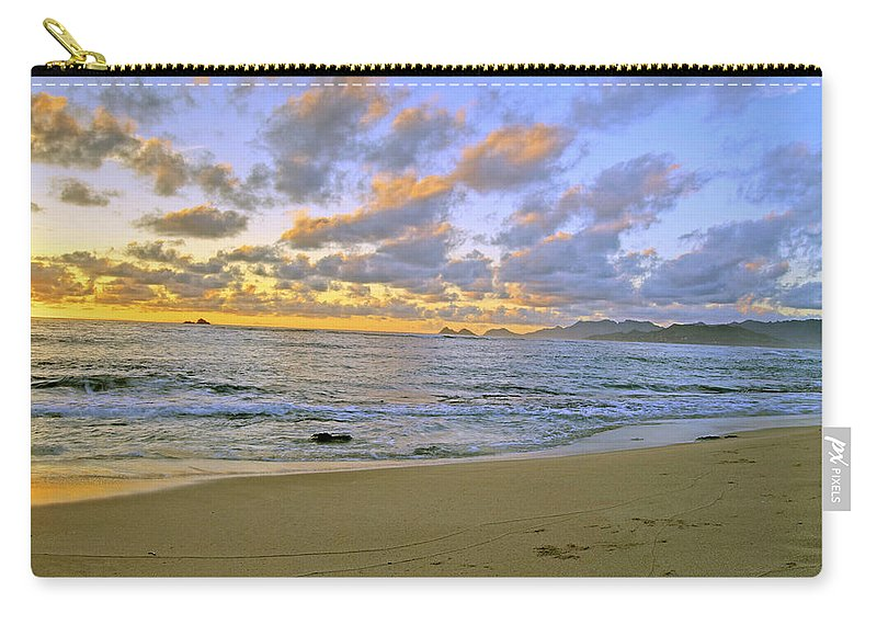 Landscape Carry-all Pouch featuring the photograph Sunrise 6901 by Michael Peychich