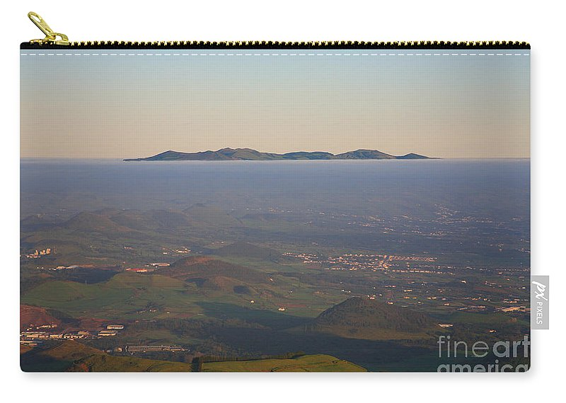 Fog Carry-all Pouch featuring the photograph Sunrise At Sao Miguel Island by Gaspar Avila