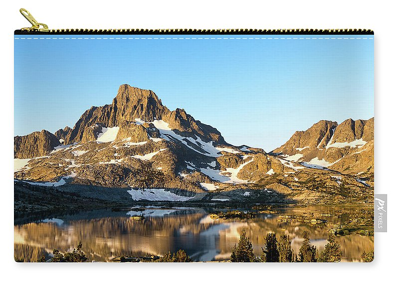 Landscape Carry-all Pouch featuring the photograph Sunrise At Thousand Island Lake by Evver Gonzalez