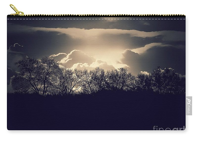 Sunrise Carry-all Pouch featuring the photograph Sunrise by Diana Rajala