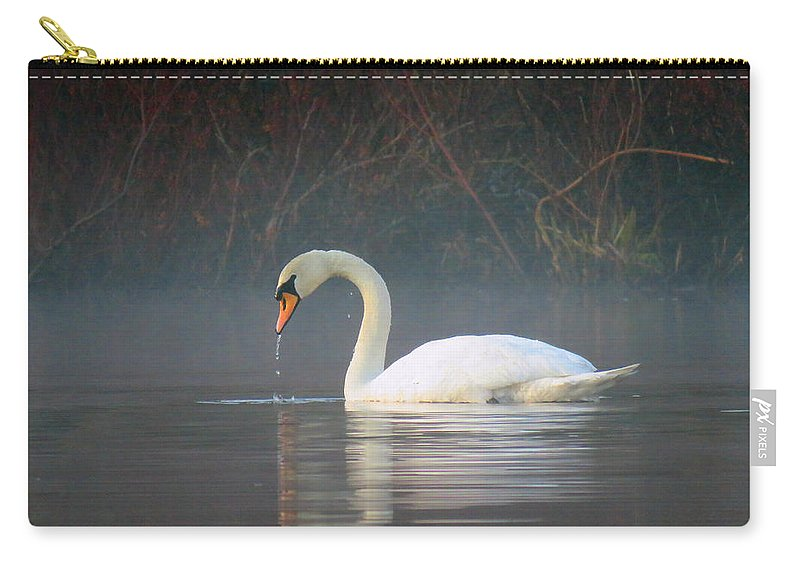 Fog Carry-all Pouch featuring the photograph Sunrise Fog by Dianne Cowen