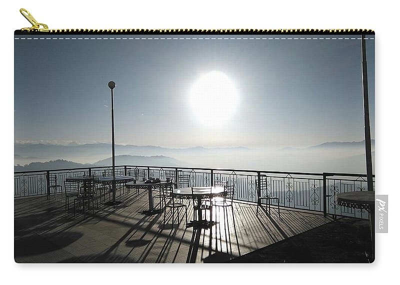 Sunrise Carry-all Pouch featuring the photograph Sunrise by Gourav Singh