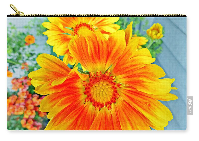 Sunrise Carry-all Pouch featuring the photograph Sunrise In A Corner by Robert Meyers-Lussier