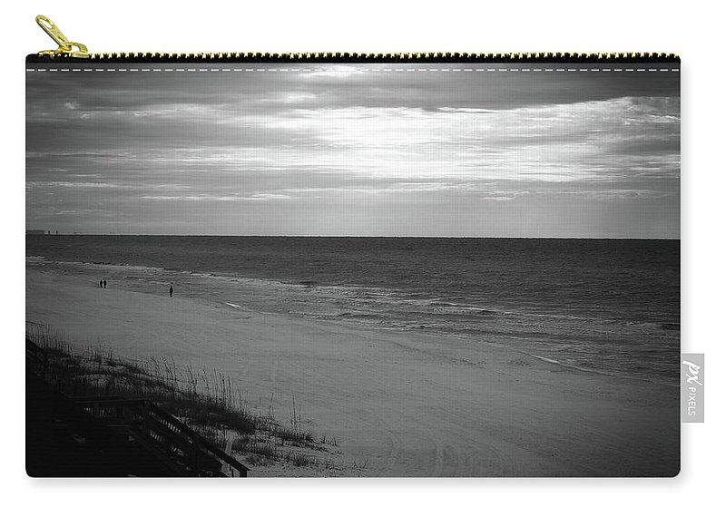 Sunrise Carry-all Pouch featuring the photograph Sunrise On Santa Rosa Beach by Elie Wolf