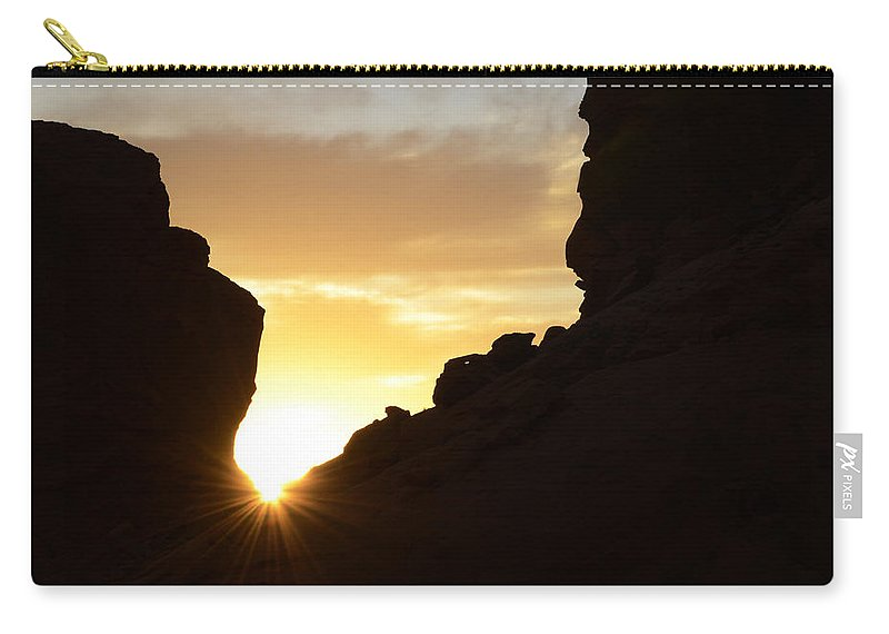 Nevada Carry-all Pouch featuring the photograph Sunrise Valley Of Fire by Bob Christopher