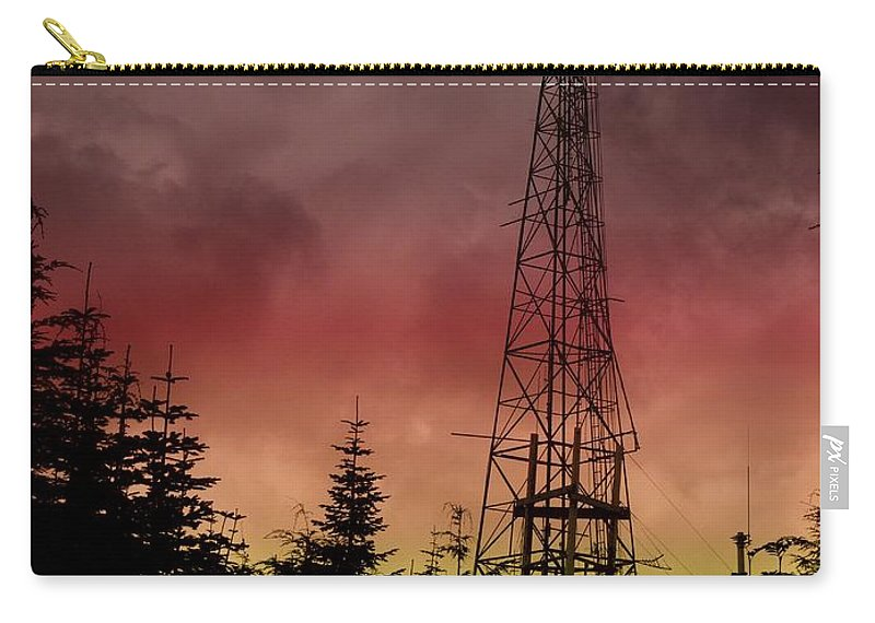 Sunset Carry-all Pouch featuring the photograph Sunset 5 by Tim Allen