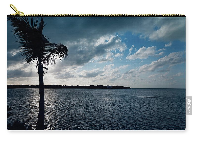Bailey Carry-all Pouch featuring the photograph Sunset At Grassy Key by John M Bailey