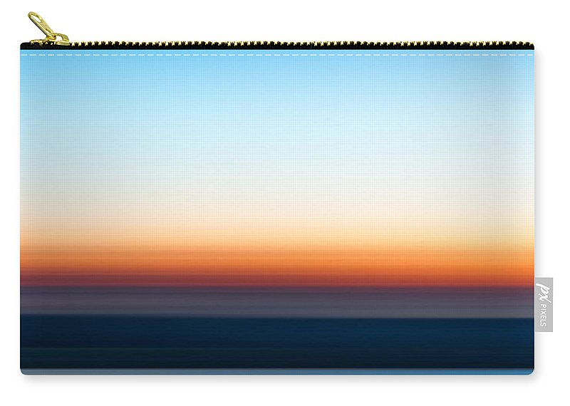 Sunset Carry-all Pouch featuring the photograph Sunset At Ottawa Lake by Scott Norris