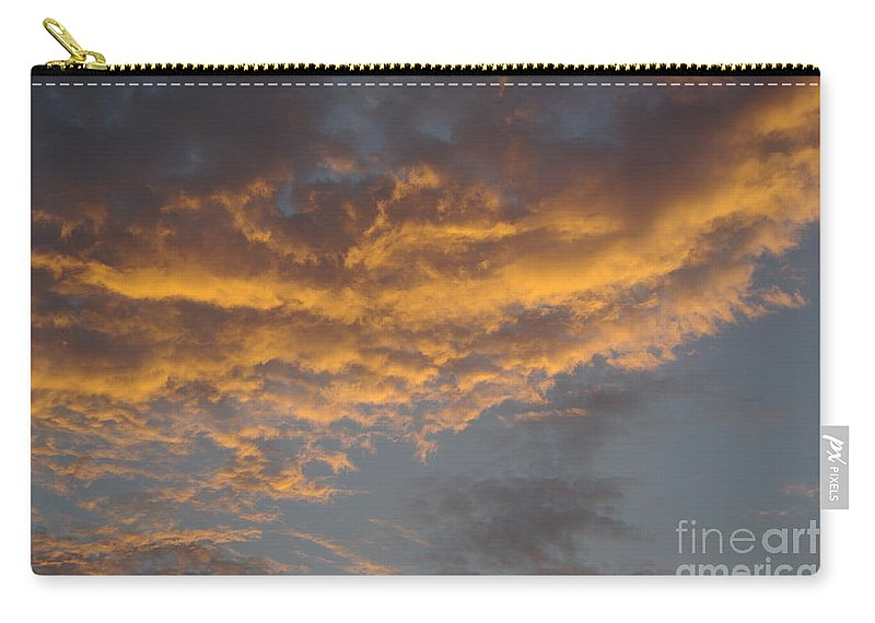 Clouds Carry-all Pouch featuring the photograph Sunset Clouds by Jim And Emily Bush